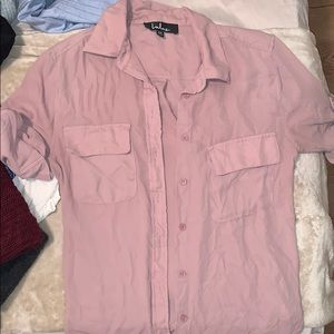 Lulus button up blouse